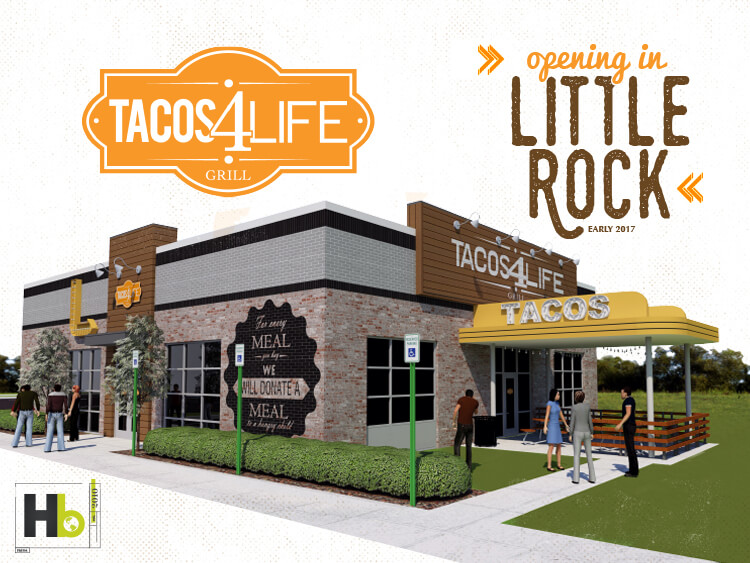 Tacos 4 Life Coming to Little Rock in Early 2017