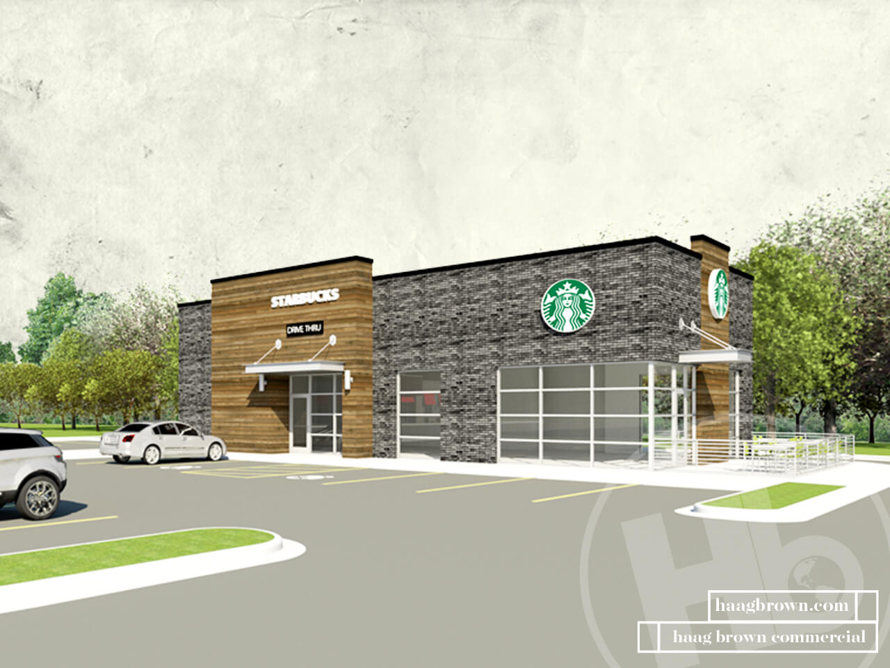 haag brown commercial real estate and development starbucks in