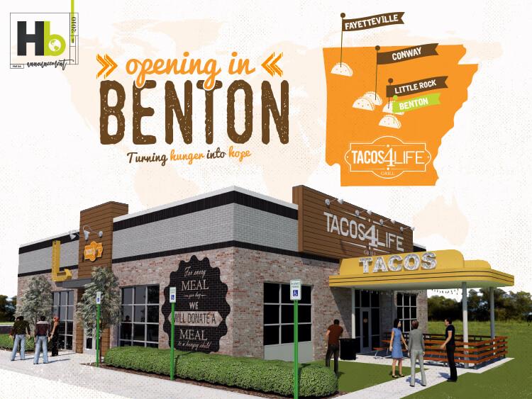 Tacos 4 Life to Open Restaurant in Benton, AR