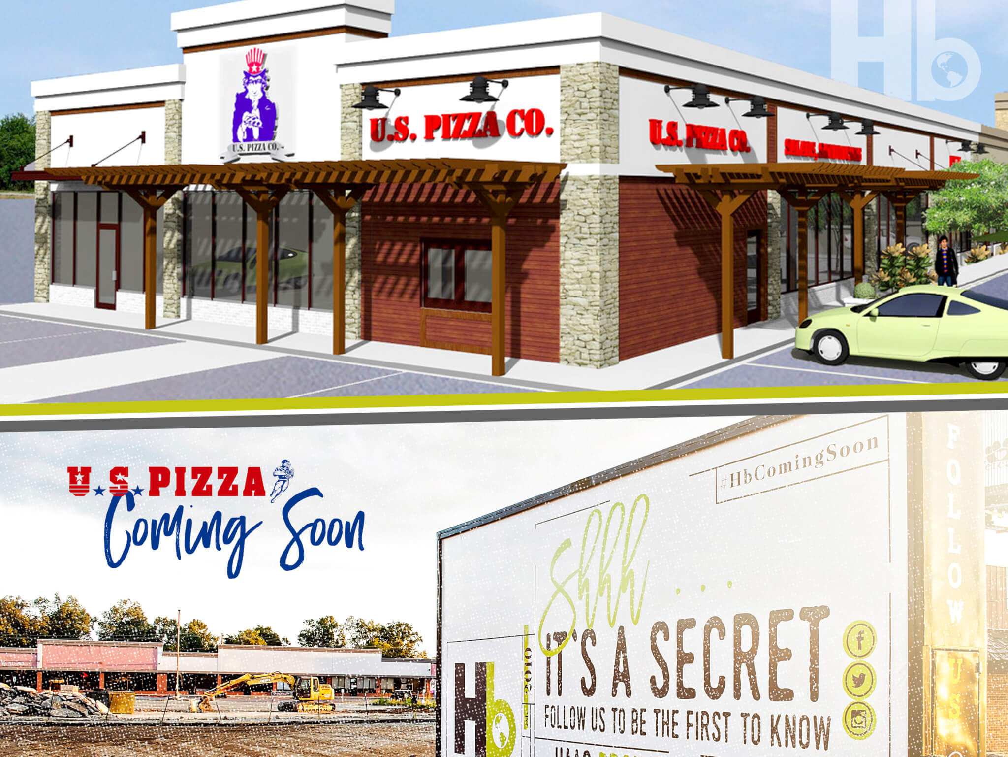 Haag Brown Announces U.S. Pizza Joins Highland Shopping Center