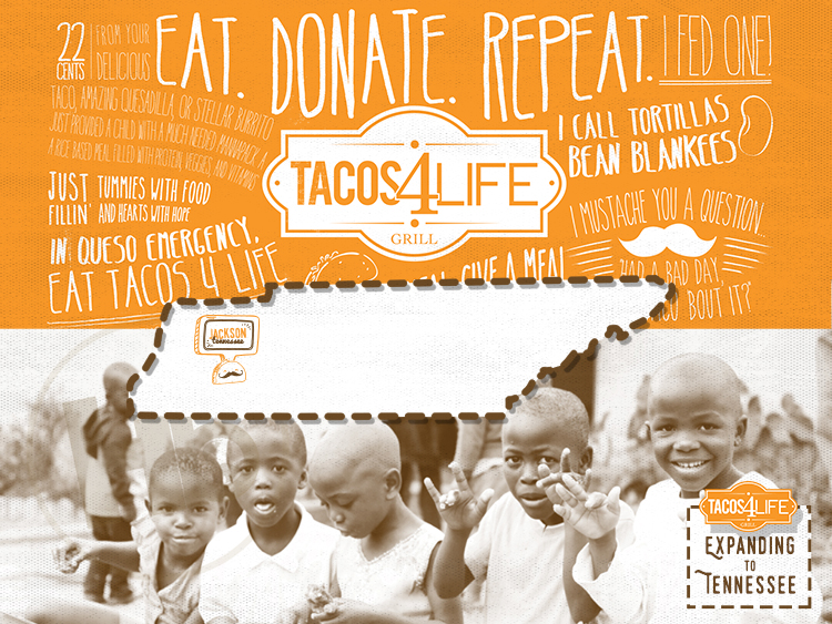 Tacos 4 Life Expanding to Jackson, Tennessee