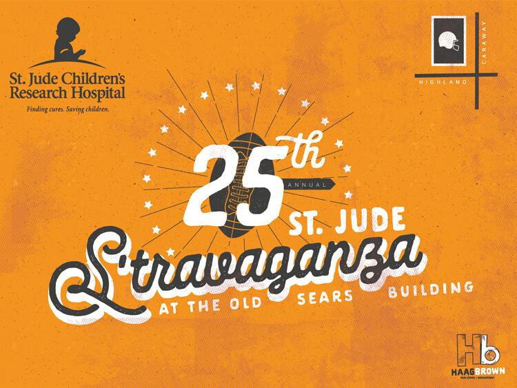 25TH Annual St. Jude S'travaganza Announcement