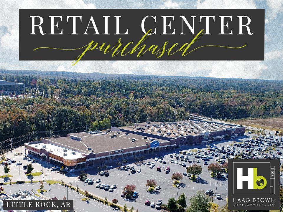 Haag Brown Development Acquires Major Retail Center