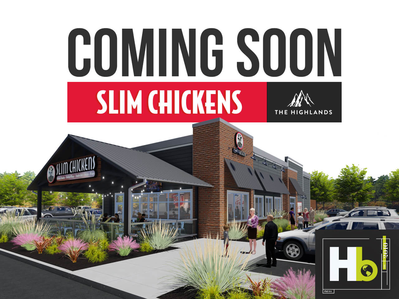 New Slim Chickens Store Coming to the Highlands