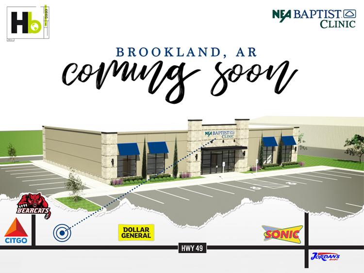 NEA Baptist Clinic Coming to Brookland, Arkansas
