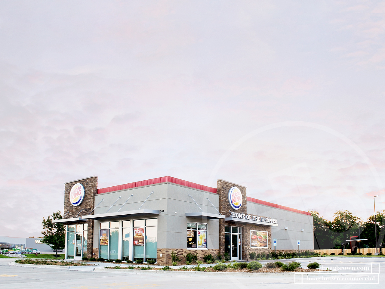 Burger King - Haag Brown Commercial Real Estate and Development