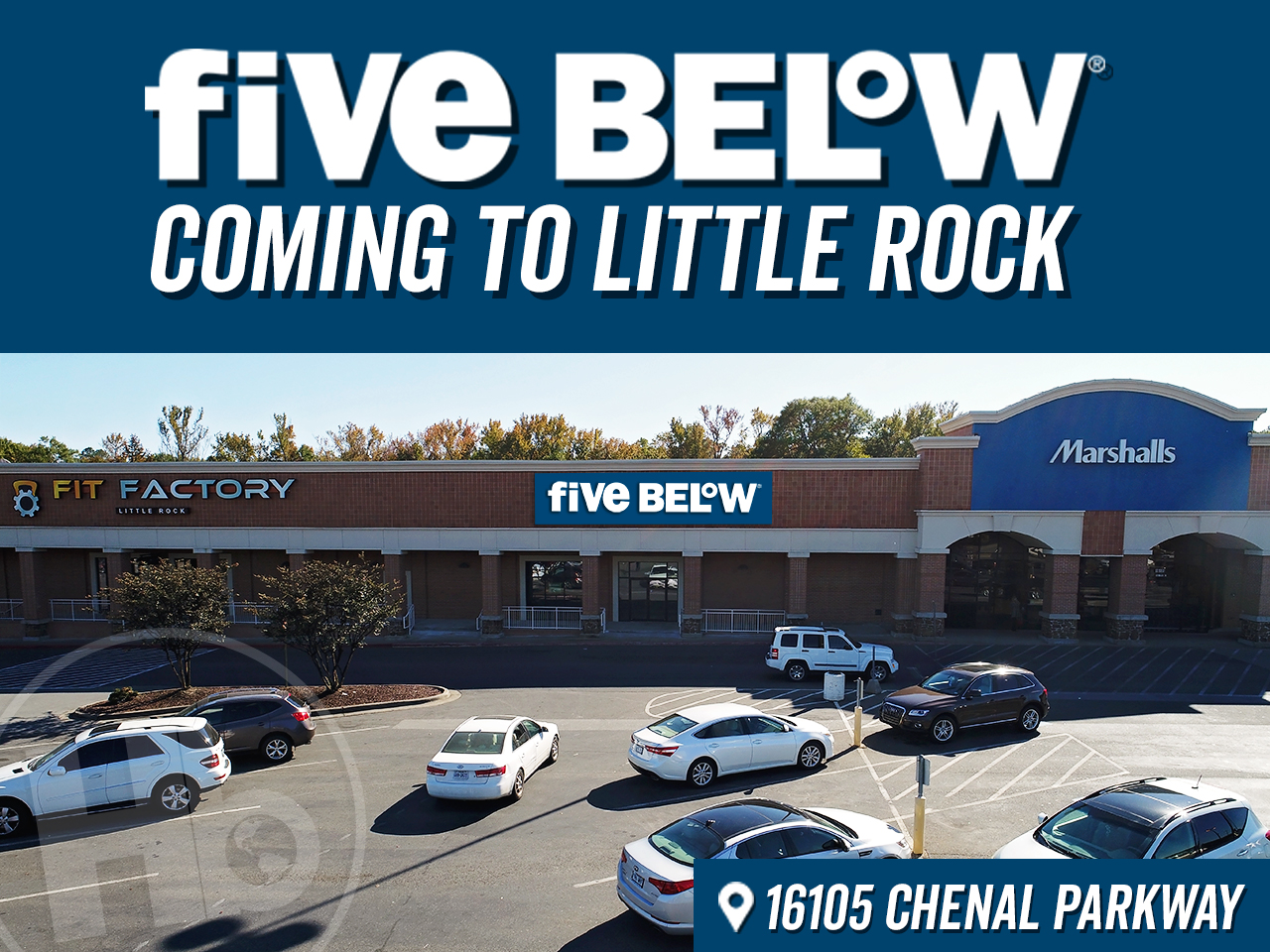 Five Below Opening at West Little Rock Shopping Center