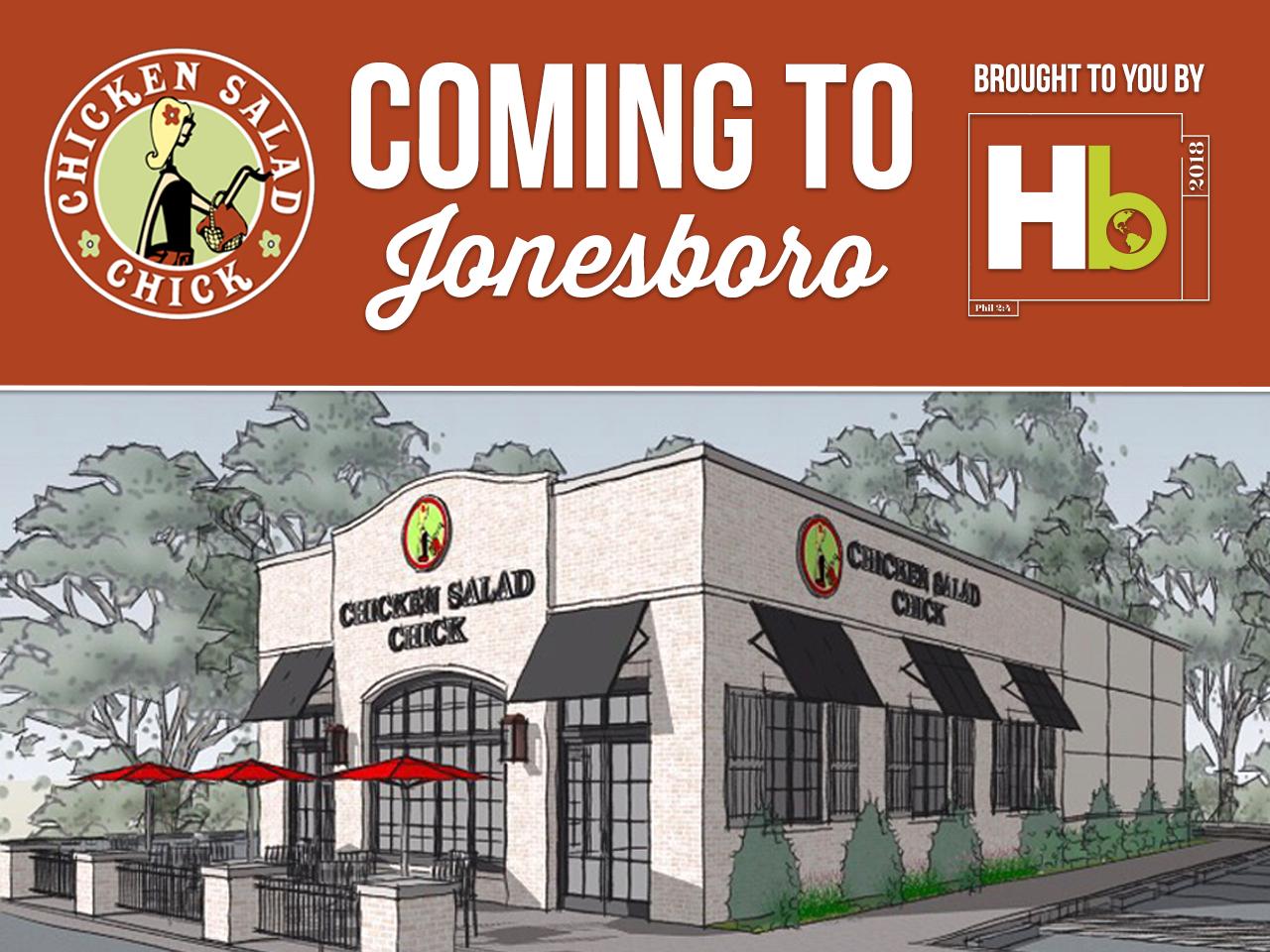 Chicken Salad Chick is Coming to Jonesboro