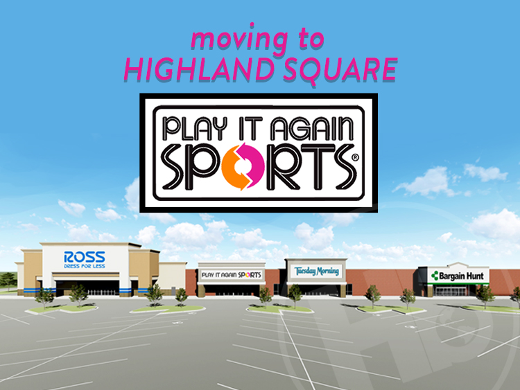 Play It Again Sports Announces Relocation