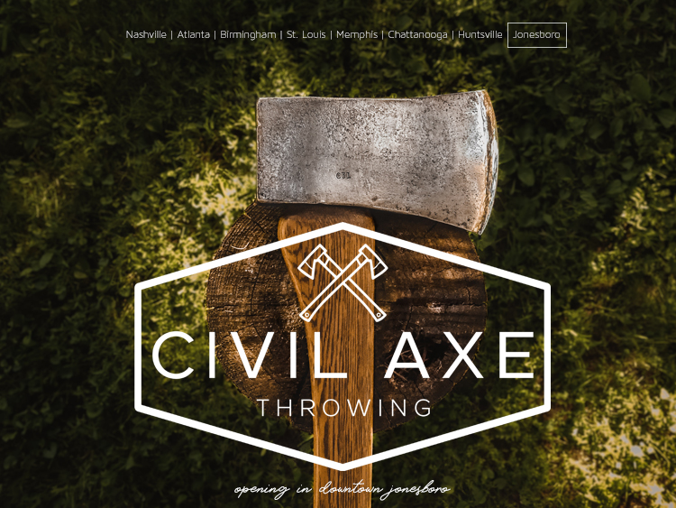 Civil Axe Throwing is Opening in Jonesboro