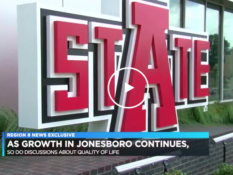 With Jonesboro's business growth, comes a growing discussion about quality of life