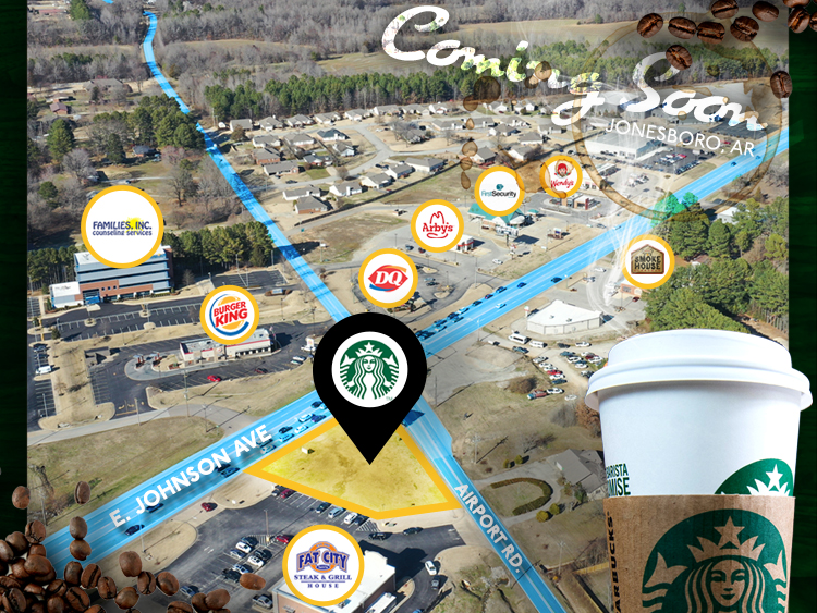Starbucks is Coming to Hilltop